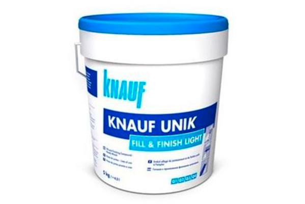 Pasta de juntas Knauf Fill & Finish light