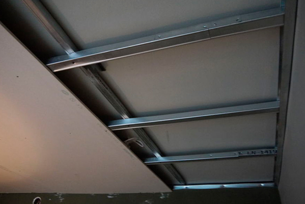 Como hacer un techo continuo
